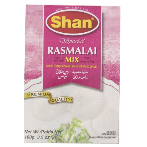 Shan Special Rasmalai Mix 100g x 1 pc