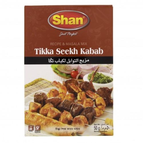 Shan Tikka Seekh Kabab Masala 50g x 1 pc