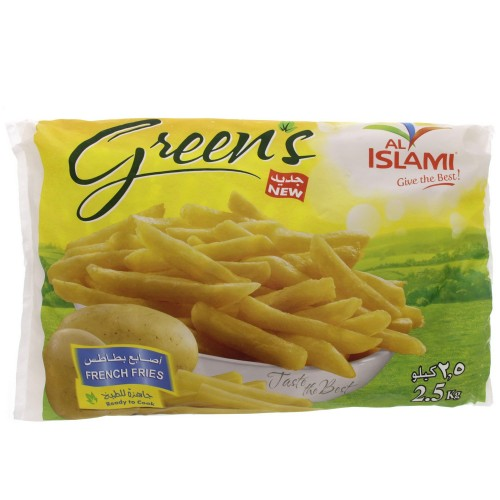 Al Islami French Fries 2.5kg x 1 pack