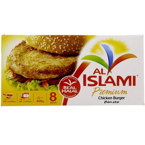 Al Islami Premium Chicken Burger 8 pcs x 400g x 1 pc