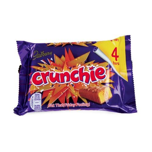 Cadbury Crunchie 4 bars x 26g x 1 pack