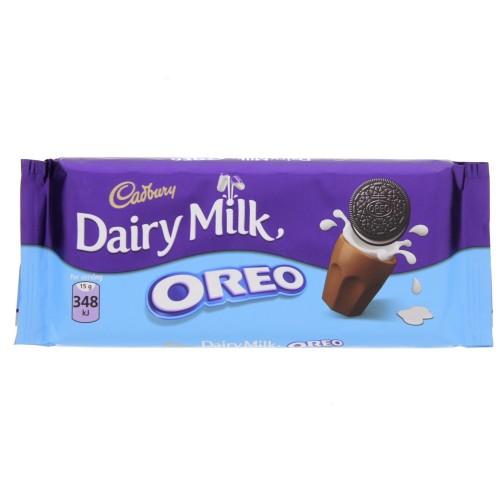 Cadbury Dairy Milk Oreo 120g x 1 pack