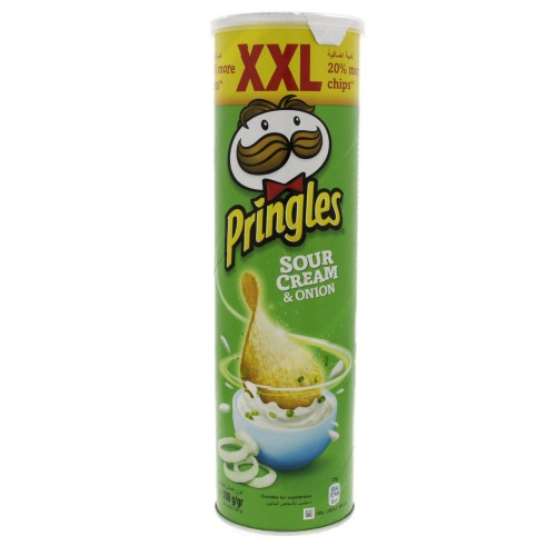 Pringles Sour Cream And Onion Flavoured Chips XXL 200g x 1 pc
