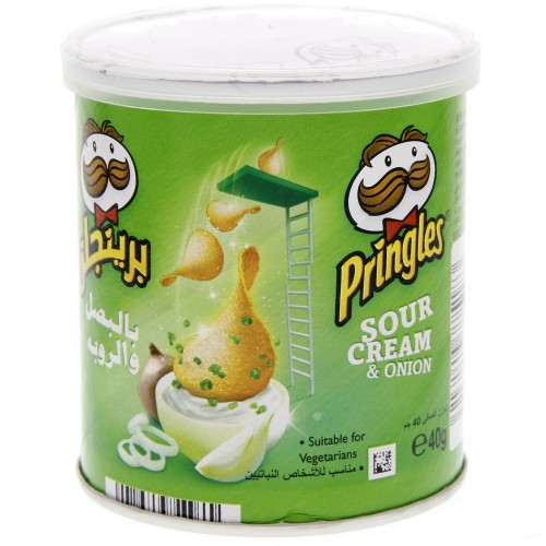 Pringles Sour Cream & Onion Chips 40g x 1 pc