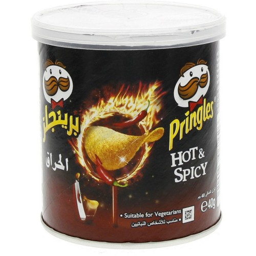 Pringles Hot & Spicy Chips 40g x 1 pc