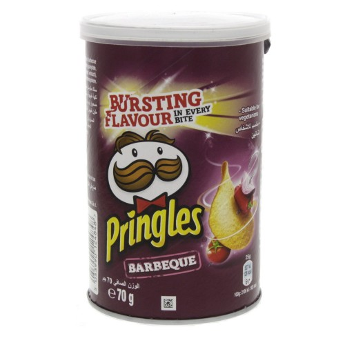 Pringles Barbeque Bursting Flavour 70g x 1 pc
