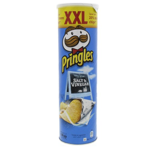 Pringles Salt And Vinegar Flavoured chips XXL 200g x 1 pc