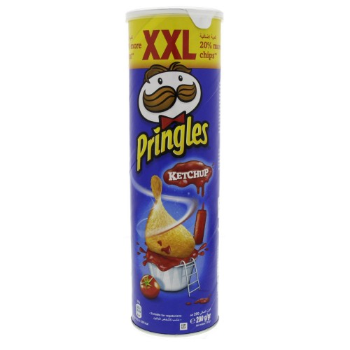 Pringles Ketchup Flavoured Chips XXL 200g x 1 pc