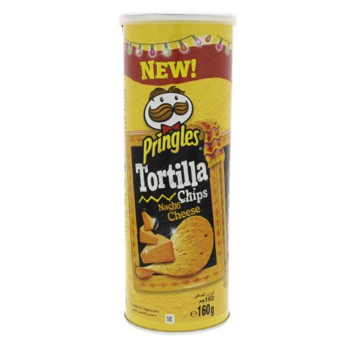 Pringles Tortilla Chips Nacho Cheese 160g x 1 pc
