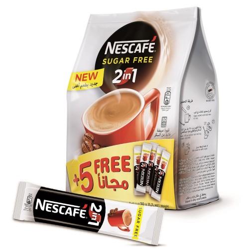 Nescafe 2in1 Sugar Free Coffee 11.7mg x 30pcs
