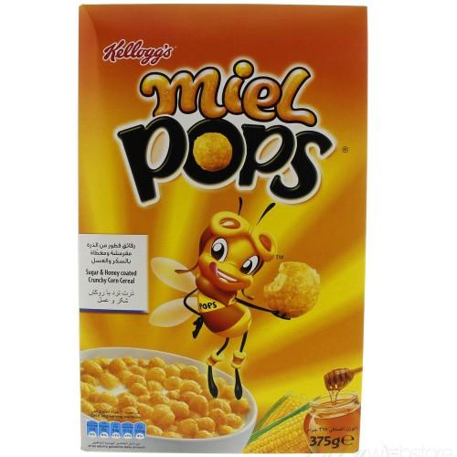 Kellogg's Miel Pops 375g x 1pc