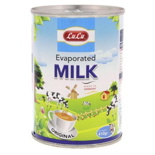 lulu Evaporated Milk 410g x 1pc