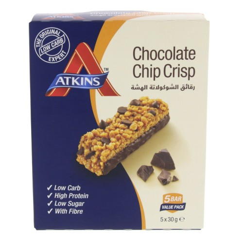 Atkins Chocolate Chip Crisp 30g x 5pcs