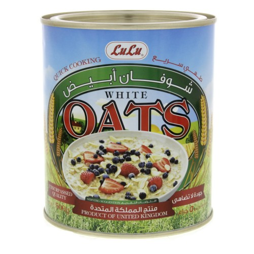 Lulu White Oats 500g x 1pc