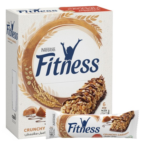 Nestlé Fitness Crunchy Caramel Breakfast Cereal Bar 23.5g x 6pcs