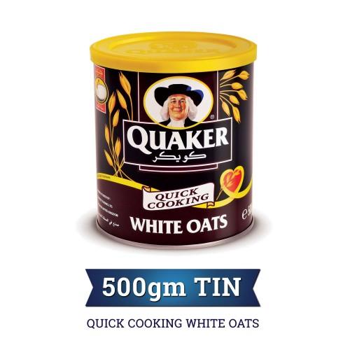 Quaker Quick Cooking White Oats 500g x 1pc