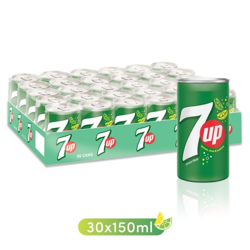 7Up Can 150ml x 30pc