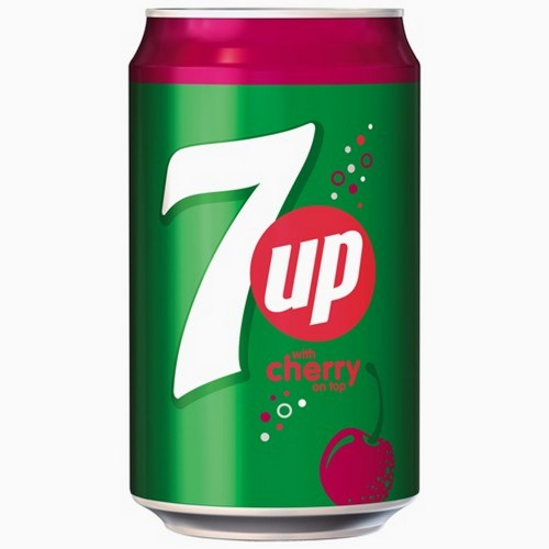 7up Cherry Can 330ml x 1pc