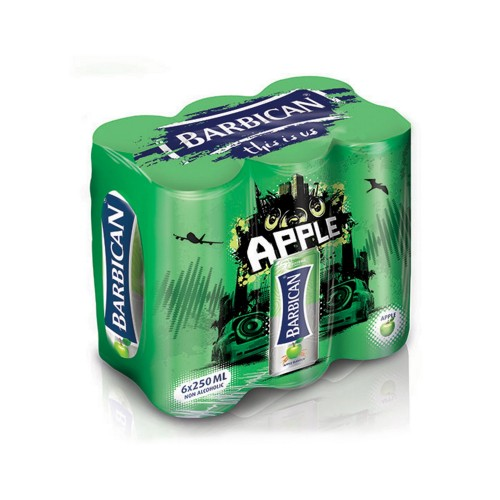Barbican Non Alcoholic Malt Beverage Apple 250ml x 6pcs