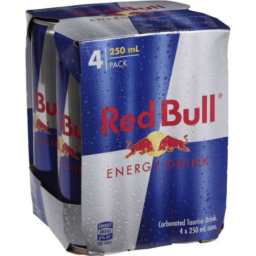 Red Bull Energy Drink 250ml x 4pcs
