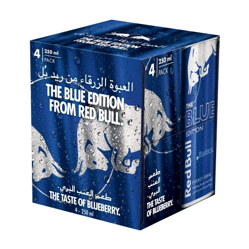 Red Bull Energy Drink Blue 250ml x 4pcs