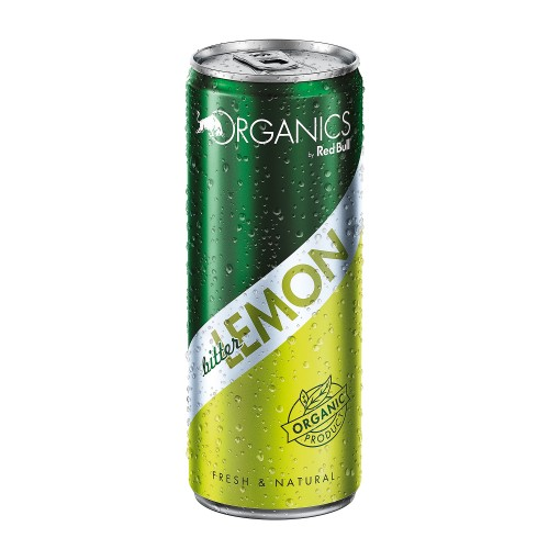 Red Bull Organic Bitter Lemon Drink 250ml x 1pc
