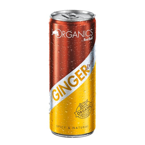 Red Bull Organic Ginger Drink 250ml x 1pc