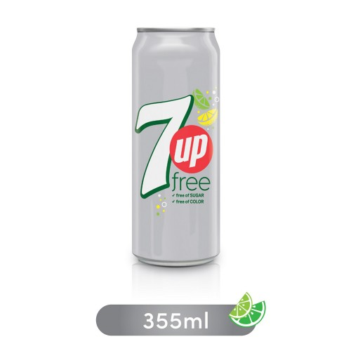 7up Free Can 355ml x 1pc
