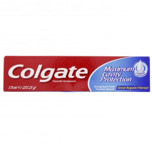 Colgate Fluoride Toothpaste Regular 175ml x 1 Pack