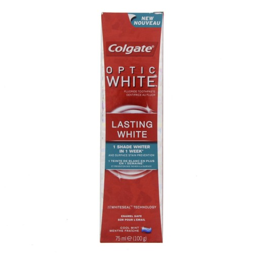 Colgate Optic White Toothpaste Lasting White 75ml x 1 pack