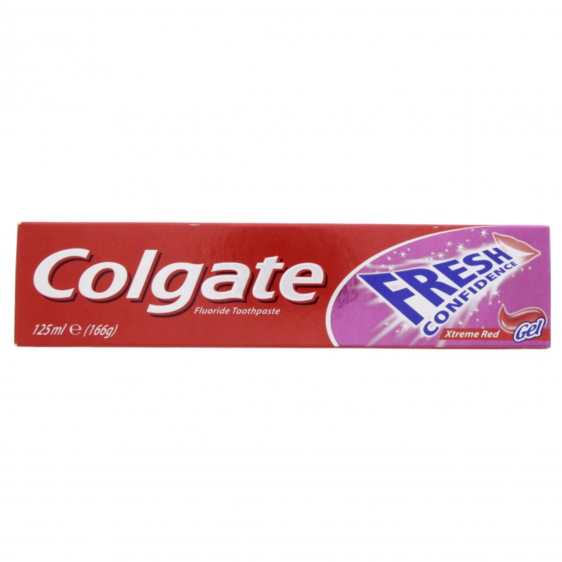 Colgate Toothpaste Fresh Confidence Extreme Gel Red 125ml x 1 pack