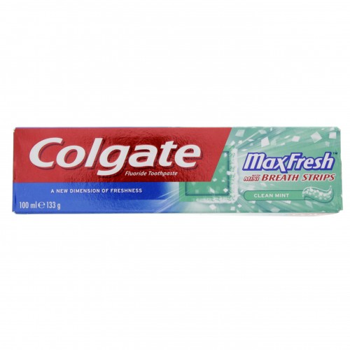 Colgate Fluoride Toothpaste Max Fresh Clean Mint 100ml x 1 pc
