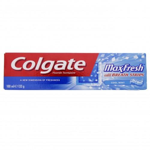 Colgate Fluoride Toothpaste Max Fresh Cool Mint 100ml x 1 pc