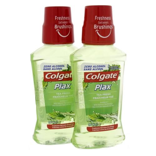 Colgate Mouth Wash Plax Fresh Tea 250ml x 2 pcs