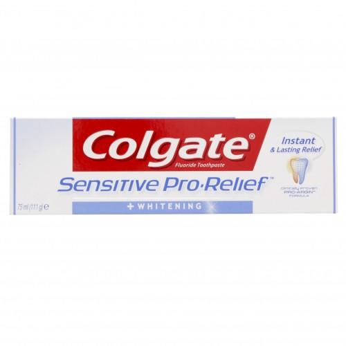 Colgate Fluoride Toothpaste Sensitive Pro-Relief Whitening 75ml x 1 pc