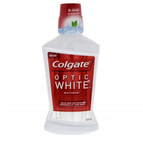 Colgate Mouthwash Optic White 500ml x 1 pc