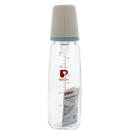 Pigeon Glass Feeding Bottle 240ml x 1 pc