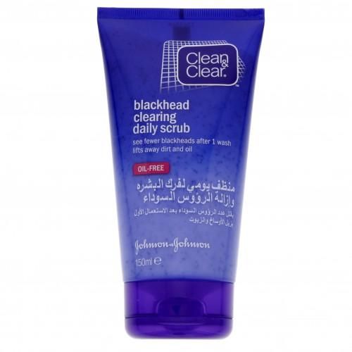 Clean & Clear Blackhead Clearing Daily Scrub 150ml x 1 pc