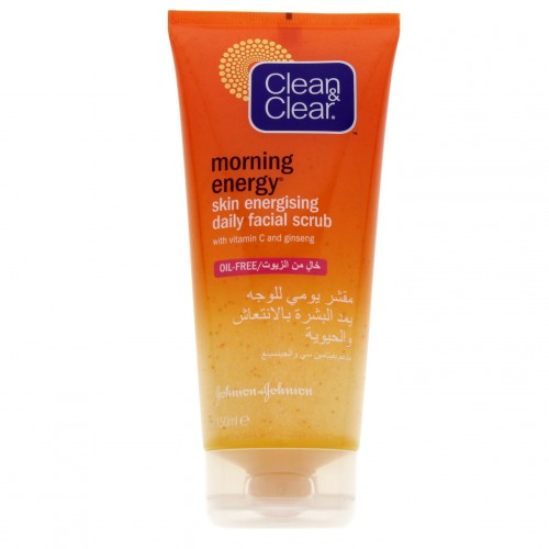 Clean & Clear Morning Energy Daily Facial Scrub 150ml x 1 pc
