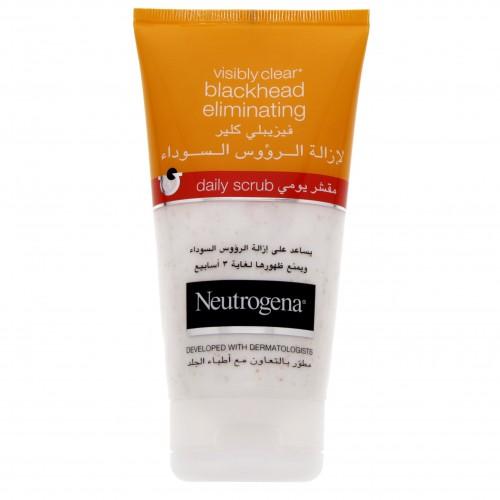 Neutrogena Blackhead Eliminating Daily Scrub 150ml x 1 pc