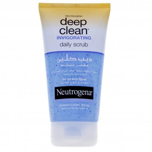 Neutrogena Deep Clean Invigorating Scrub 150ml x 1 pc