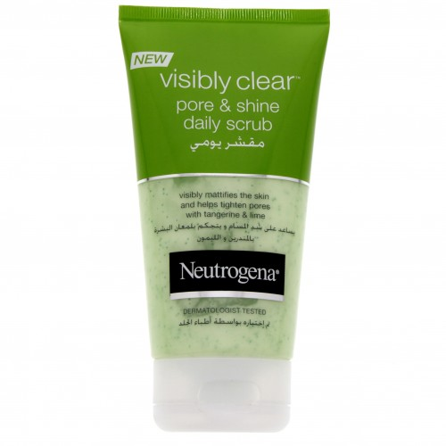 Neutrogena Visibly Clear Pore & Shine Daily Scrub 150ml x 1 pc