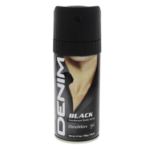 Denim Black Deodorant Body Spray 150ml