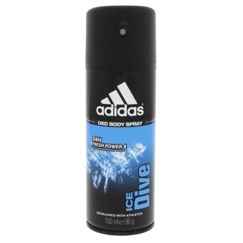 Adidas Ice Dive Deo Body Spray For Men 150ml x 1 pc