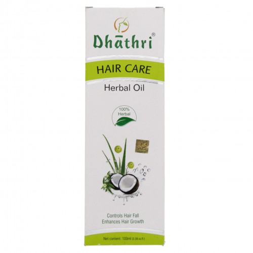 Dhathri Hair Care Herbal Oil 100ml x 1 pc