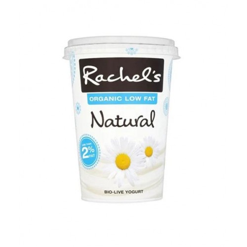 Rachel's Organic Greek Yoghurt Low Fat Natural 450g