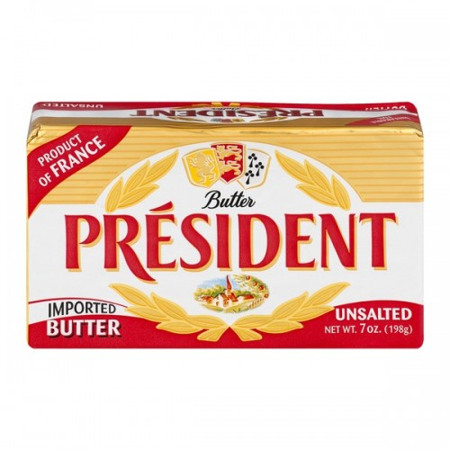 President Unsalted Butter 7 oz x 1 pc
